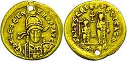 10.40.80: Antike - Oströmisches Reich - Leo II., 474 n. Chr.
