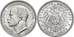 40.80.20.70: Europa - Deutschland - Deutsches Kaiserreich - Hessen - Darmstadt