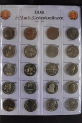 100.70.80.60: Lots - Münzen - Deutschland - DDR