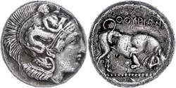 10.20.100: Ancient Coins - Greek Coins - Lucania