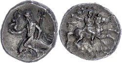 10.20.90: Ancient Coins - Greek Coins - Calabria