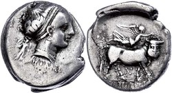 10.20.60: Ancient Coins - Greek Coins - Campania