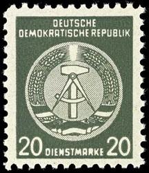 723: Propaganda nach 1945 - Dienstmarken