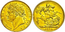 40.150.410: Europa - Großbritannien - Georg IV., 1820-1830