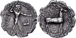 10.20.110: Antike - Griechen - Bruttium
