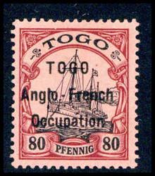 245: Deutsche Kolonien Togo Britische Besetzung