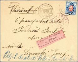 6345: Tschechoslowakei Militärpost in Sibirien