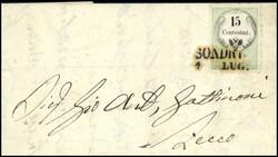 4770: Österreich Lombardei Venetien - Stempelmarken