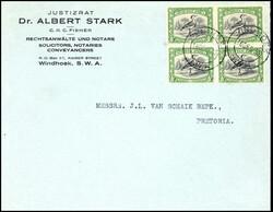 186: Deutsche Kolonien Südwestafrika, Mandat