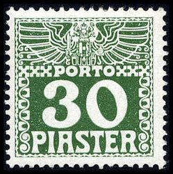 4785: Österreich Post in der Levante - Portomarken
