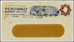 10230012: Deutsche Kolonien Samoa Kriegspost