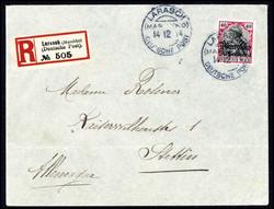 10155012: Deutsche Auslandspost Marokko Kriegspost