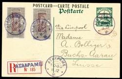 250: Deutsche Kolonien Togo Französische Besetzung  - Ganzsachen