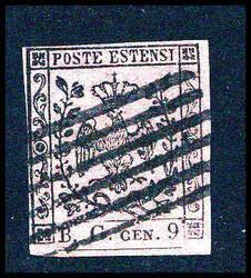 3370: Italien Staaten Modena Zeitungsstempelm.