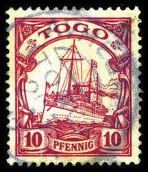 240: Deutsche Kolonien Togo - Stempel