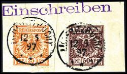 184: Deutsche Kolonien Südwestafrika, Vorläufer