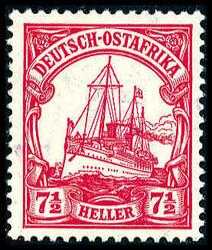 180: Deutsche Kolonien Ostafrika Brit. Besetzung