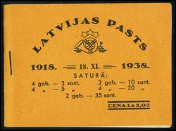 4145: Latvia - Stamp booklets
