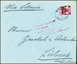 10150012: Deutsche Auslandspost China - Kriegspost