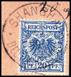 10149020: Deutsche Auslandspost China, Mitläufer
