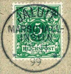 10219010: Deutsche Kolonien Marschall Inseln Mitläufer