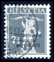 5660: Switzerland Official Stamp for War Economy
