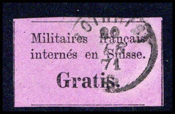 5655162: Switzerland Free Postage for the Military