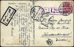 10160012: Deutsche Auslandspost Türkei Kriegspost