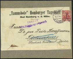 10185012: Deutsche Kolonien Deutsch Südwestafrika Kriegspost