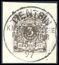 149: Deutsche Auslandspost China, Vorläufer