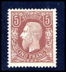 Belgien Briefmarken Alte Briefmarke Belgien