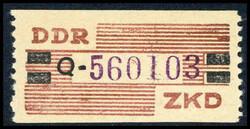 1385: DDR Verwaltungspost B Zentraler Kurierdienst