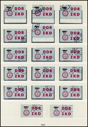 1390: DDR Verwaltungspost C Laufkontrollzettel ZKD