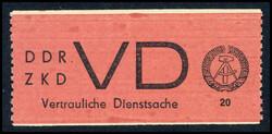 1395: DDR Vertrauliche Dienstsachen