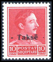 1620: Albanien - Postage due stamps