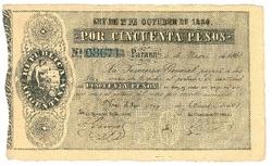 Banknotes – America - Argentina