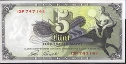 840350: Banknotes Bank Deutscher Laender, Federal Republic - Emergency money