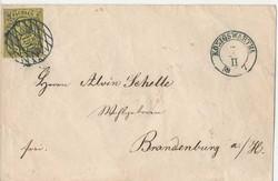 85: Altdeutschland Sachsen