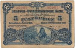 175: Deutsche Kolonien Ostafrika - Notgeld