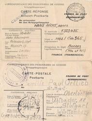 724020: Kriegsgefangenenlagerpost 2. Wk