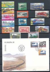 9980200: Spielzeug Eisenbahnen - Sammlungen