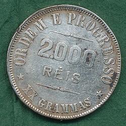 1935: Brasilien - Muenzen