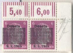 835: Deutsche Lokalausgabe Döbeln