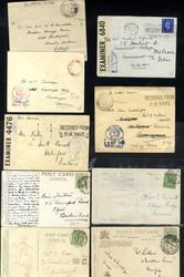 7680: Sammlungen und Posten Schiffspost