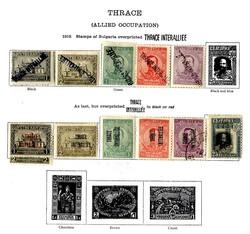 6215: Thrakien autonome Regierung - Sammlungen