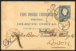 7210: Collections and Lots Portugese Colonies - Postal stationery