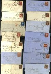 150700: Großbritannien, Region Newcastle upon Tyne (NE) - Briefe Posten