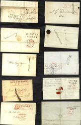 150340: Großbritannien, Region Edinburgh (EH) - Briefe Posten