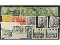 7260: Collections and Lots Spain Colonies - Bulk lot