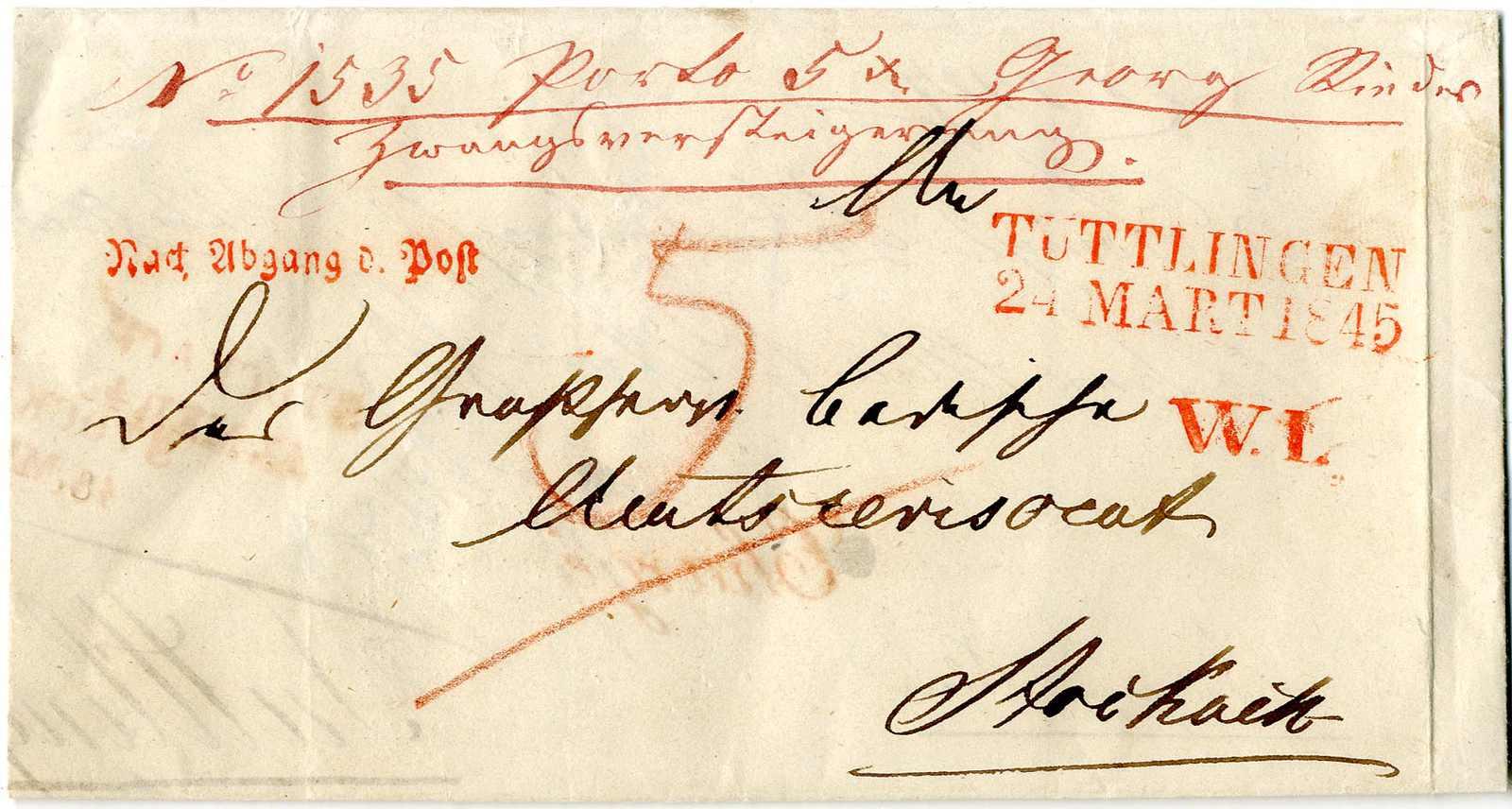 Lot 3 - Altdeutschland Baden, Vorphilatelie  -  Karl Pfankuch & Co. auction #222